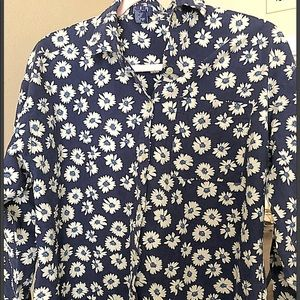 Like new mens Gap floral business casual S